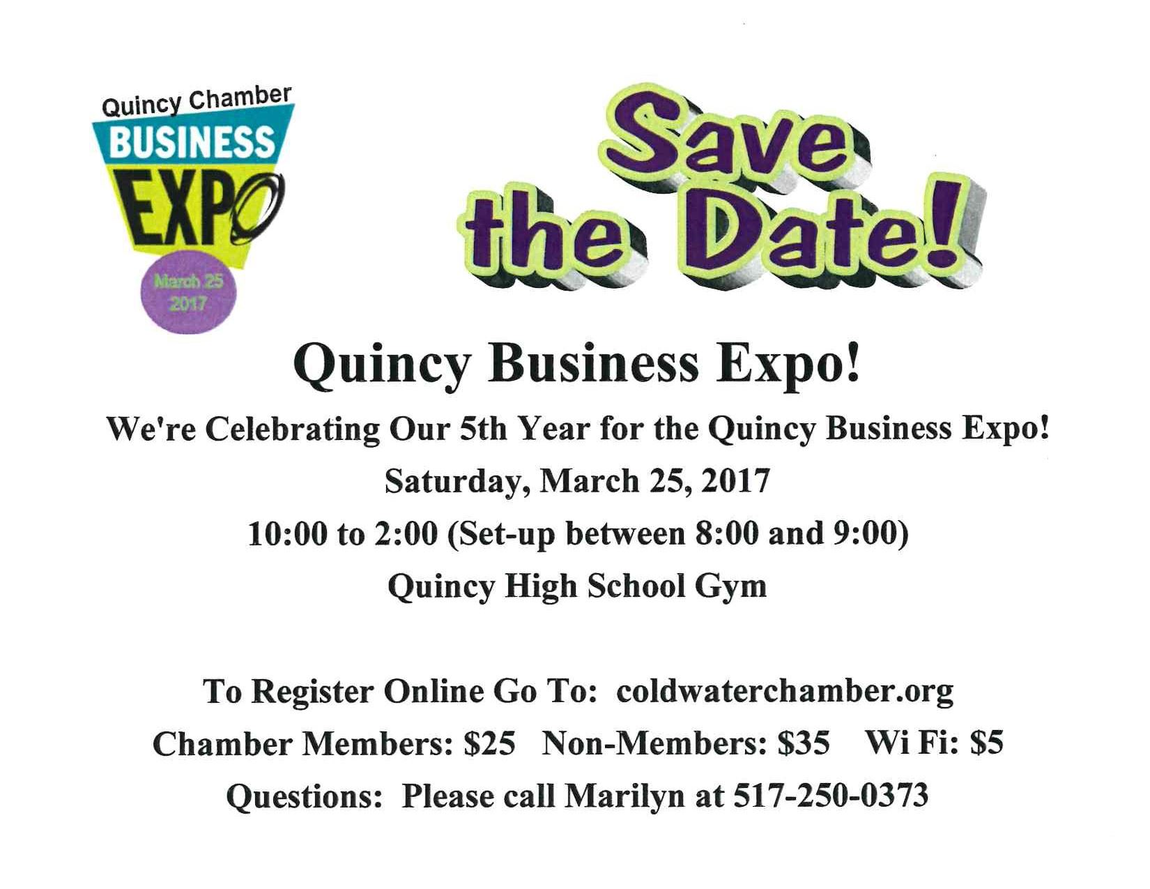 Save The Date - Business Expo